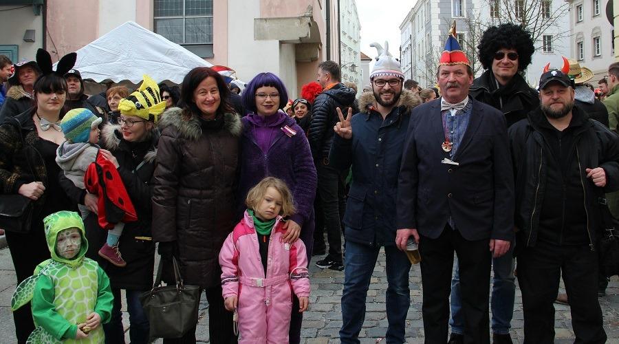 Die Passauer Liste beim Innstadt-Fasching 2020